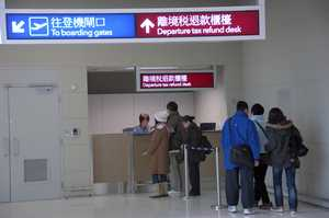 Passengers en route for overseas destinations via SkyPier are exempt from paying the $120 Hong Kong Airport Departure Tax.